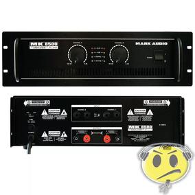 Amplificador Potência Mark Audio Mk8500 1500w- Loja Kadu Som