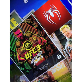 Vendo Ufc 3 Y Marvel Spiderman En Cuenta Secundaria