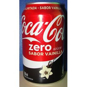 Lata Coca Cola Zero Vainilla (chile - 2016 - 350 Ml) Vacía