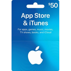 Giftcard Eua $50 Itunes Apple Store Ipod Iphone Gift Card