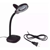 Lampara Yaxun Fluorescente Con Lupa Brazo Movible Flexible