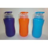 Termos Cooler D Agua Plastico Niños Colegio Gym Deport 500ml