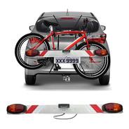 Régua Sinalizador P/ Transbike Suporte P/ Placa Luz Bike