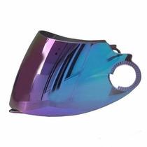 Viseira Iridium Azul Yohe Pratik Articulado Produto Original
