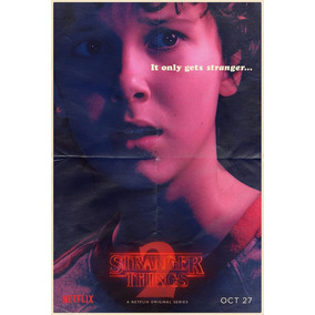 Poster Serie Stranger Things Lámina Eleven 48x32cm.300gs.