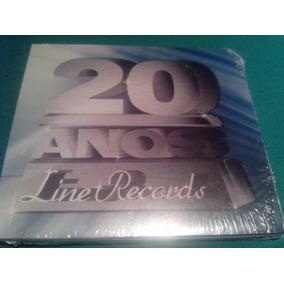 Cd 20 Anos Line Records - Lacrado De Fábrica -mara Maravilha