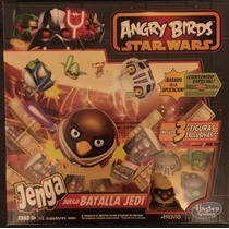 Jenga Batalla Jedi Angry Birds Navidad Reyes
