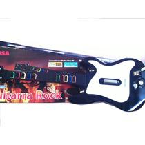 Guitarra P/guitar Hero3 Ps2 Con Cable 10 Botones-vte Lopez