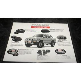 Folder / Catálogo / Pôster Toyota Hilux Acessórios