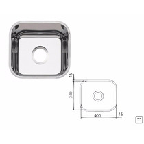 Tarja Cubeta Simple 40x54