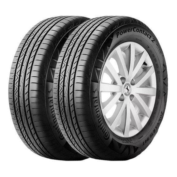 Kit X2 Cubiertas Continental 195/55 R15 Power Contact2 85h