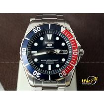 Relógio Seiko 5 Sport Snzf15 K1 Automatico 23 Jewels Originl
