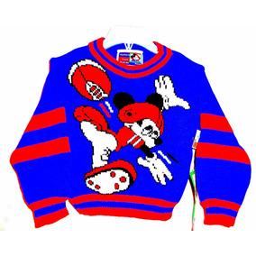 Sweater Mickey Talle 2 /4 Original Disney Store C/ Bolsa