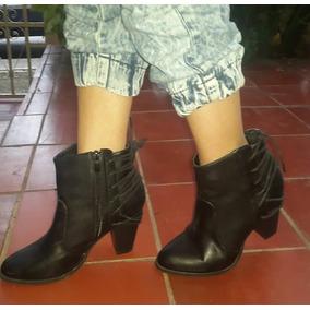 1f2f6e57b2687 Botines Negros De Damas - Zapatos Mujer en Carabobo en Mercado Libre ...