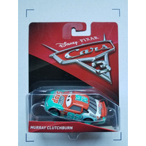 Disney Pixar Cars 3 Corredores Murray Clutchburn #92