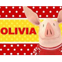 Kit Imprimible Para Tu Fiesta De Olivia La Cerdita