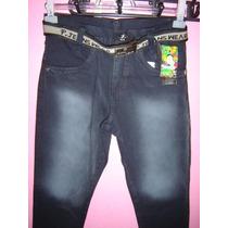 Calça Infantil Jeans Tamanho 10...