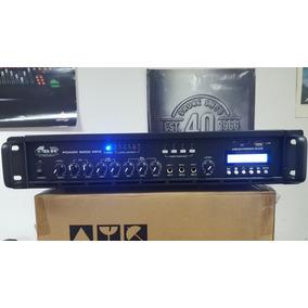 Amplificador Potencia Música Funcional 150w Bluetooth Mp3 Fm