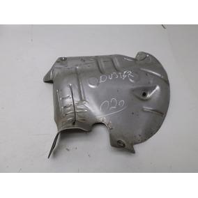 Protetor Defletor Calor Descarga Escapamento Da Duster 1.6 1