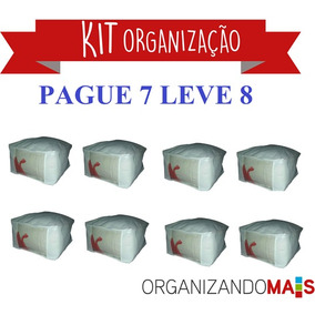 Caixa Organizadora Compre 7 Leve 8- 30x45x60