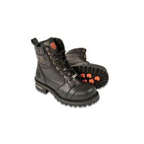 Milwaukee Mens Wide Boots Con Cordones (negro, Talla 15)