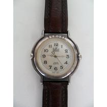 Relógio De Pulso Marca Dumont Quartz Antigo