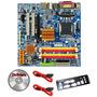 Kit Placa Mãe 775 Ddr2 Gigabyte + Dual Core + 2gb + Cooler