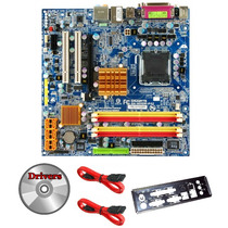 Kit Placa Mãe 775 Ddr2 Gigabyte + Dual Core + 2gb + Cooler