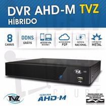 Kit Especial Dvr Tvz 4 Canais + 3 Cameras Ahd 720p Completo