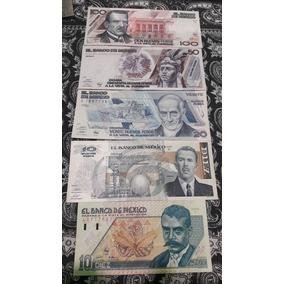 Coleccion Billetes Nuevos Pesos. Cuahutemoc Lazaro Cardenas