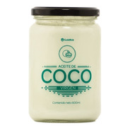 Aceite De Coco Virgen X 600ml Frasco Vidrio