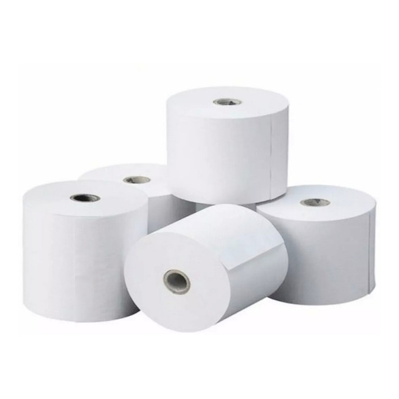 10 Rollos Papel Termico 44x50 Mts Pack