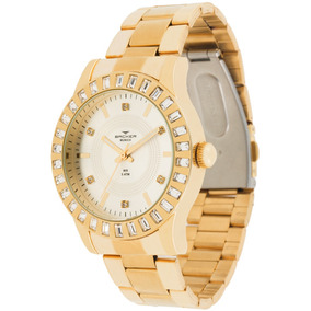 Relógio Feminino Backer 3918145f Si Munich Dourado