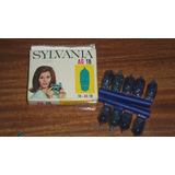 Antiguos Flash Bulbs Silvania Ag, 1b, 9 En Caja