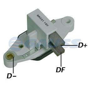 Regulador Voltagem 14v 90a Mb Furgão Pick Up Mb 180 Ga022