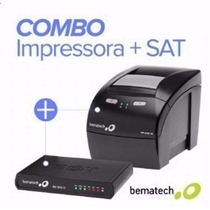 Kit Impressora Térmica Bematech Mp4200th + Sat Fiscal Rb1000