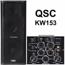 Qsc Kw153 Bafle Activo Bi Amplificado Sonido Potenciado1000w