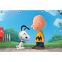 Snoopy 1,20 X 1,02m, Peppa Pig, Painel Infantil, Decoracao