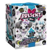 Cachorro De Peluche Interactivo Diamd Present Pets.