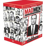 Dvd Box Mad Men - A Série Completa - 30 Discos - Original