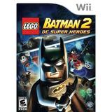 Lego® Batman 2 Super Heroes Dc Pre-propietarios (nintendo W