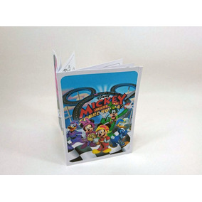 Mickey Aventura Sobre Ruedas Libritos Para Pintar (pack X30)