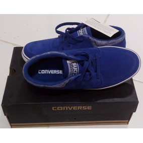 Tenis All Star Masculino Converse Mid Azul Sea Star Outlet.