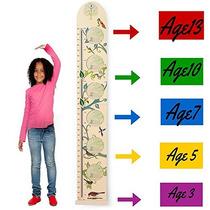 Niños De La Pared De Madera Crecimiento Altura Chart- Regla