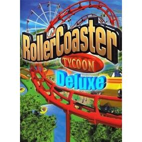 Roller Coaster Tycoon Deluxe Jogo Pc Envio Por Email