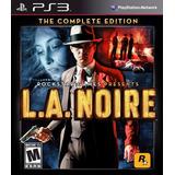 L.a. Noire Complete Edition Ps3 Entrega En El Día Digital