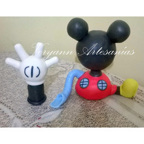 Adornos De Torta Minnie Mickey Zou Minions Nemo Princesas