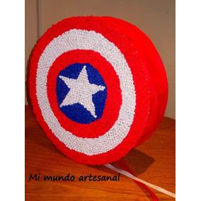 Piñata - Escudo Capitán America