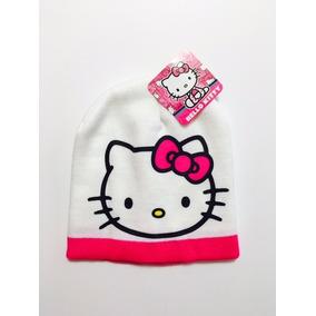 Gorro Invernal Hello Kitty Para Niñas Usa, Importadas Modelo
