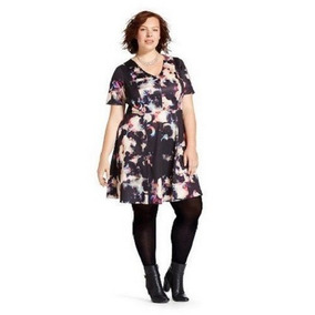 Vestido Dama Talla Extra 3xl(24w-26w) Multi Print Envio Grat